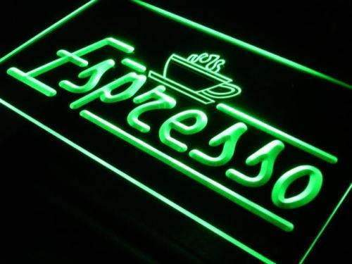 Coffee Shop Cafe Espresso Neon Sign (LED)-Way Up Gifts