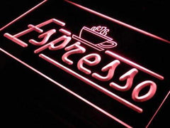 Coffee Shop Cafe Espresso LED Neon Light Sign
