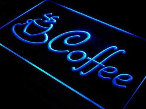 Coffee Shop LED Neon Light Sign - Way Up Gifts