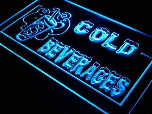 Cold Beverages LED Neon Light Sign - Way Up Gifts