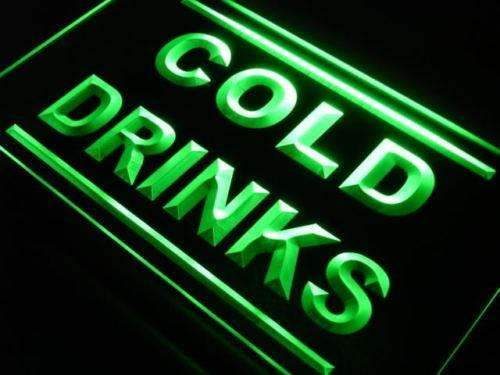 Cold Drinks LED Neon Light Sign - Way Up Gifts