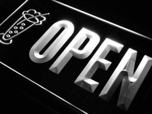 Cold Drinks Open Neon Sign (LED)-Way Up Gifts