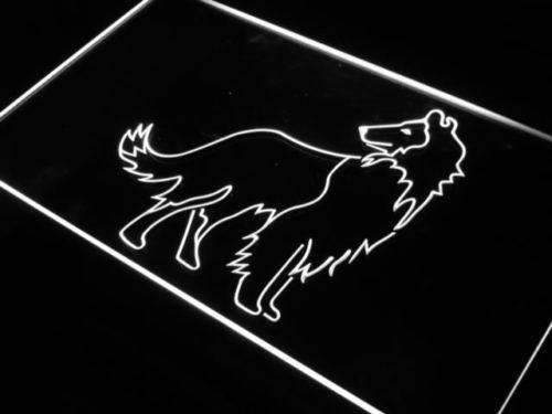Collie Dog LED Neon Light Sign - Way Up Gifts