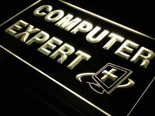 Computer Expert Repairs LED Neon Light Sign - Way Up Gifts