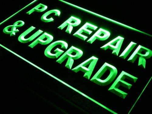 Computer PC Repair and Upgrade Neon Sign (LED)-Way Up Gifts