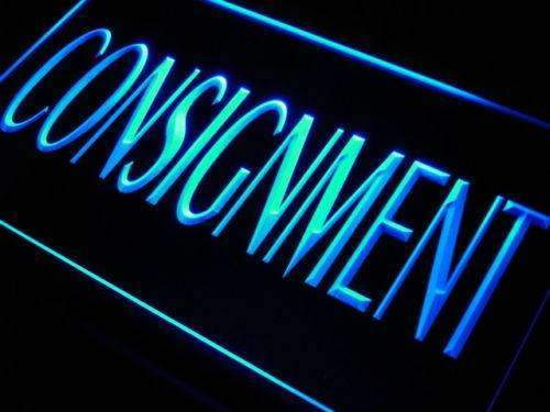 Consignment LED Neon Light Sign - Way Up Gifts