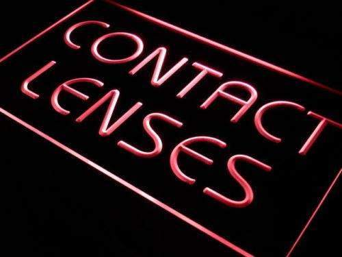 Contact Lenses Neon Sign (LED)-Way Up Gifts