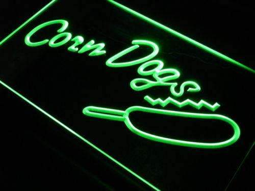 Corn Dogs LED Neon Light Sign - Way Up Gifts