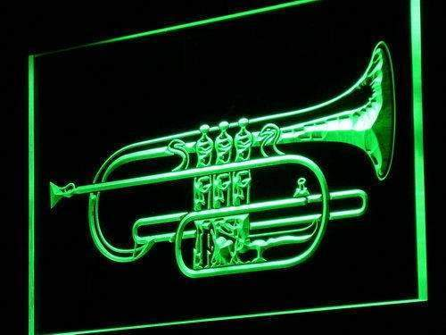 Cornet Instruments Lessons Neon Sign (LED)-Way Up Gifts