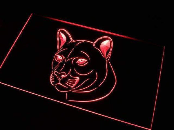 Cougar Neon Sign (LED)-Way Up Gifts