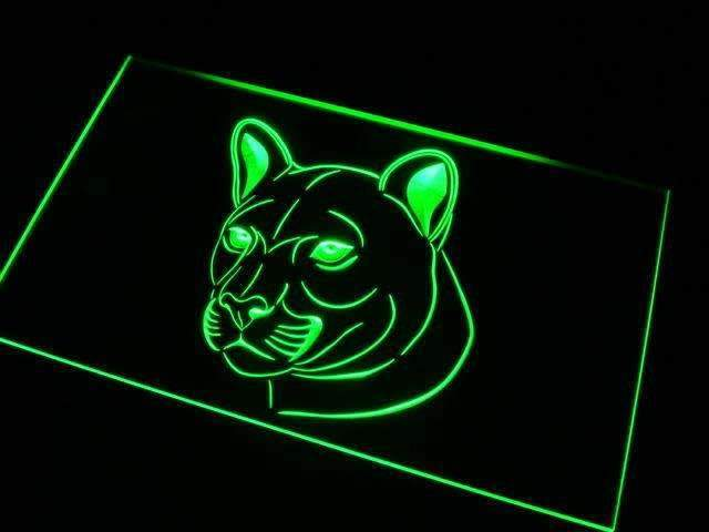 Cougar LED Neon Light Sign - Way Up Gifts