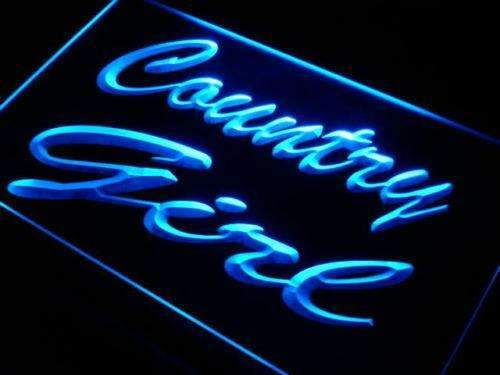 Country Girl Neon Sign (LED)-Way Up Gifts