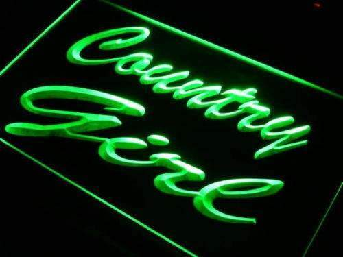 Country Girl LED Neon Light Sign - Way Up Gifts
