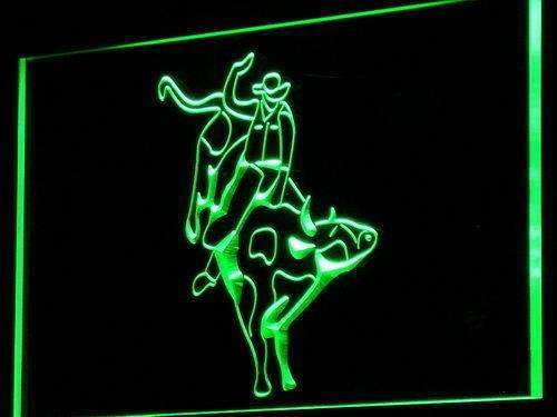Cowboy Bull Rider LED Neon Light Sign - Way Up Gifts