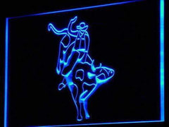Cowboy Bull Rider LED Neon Light Sign