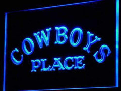 Cowboys Place LED Neon Light Sign