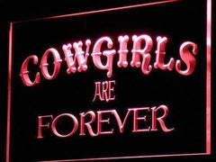 Cowgirls are Forever LED Neon Light Sign