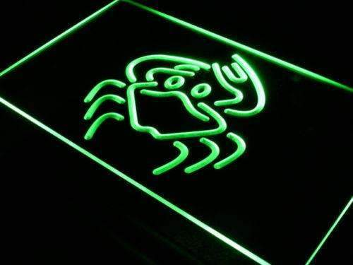 Crab Animal Neon Sign (LED)-Way Up Gifts