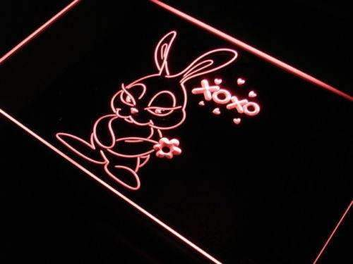 Cute Bunny Decor LED Neon Light Sign  Business > LED Signs > Uncategorized Neon Signs - Way Up Gifts
