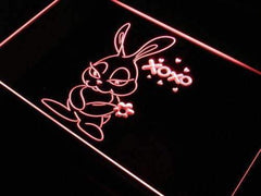 Cute Bunny Decor LED Neon Light Sign