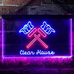 Clean House Maid Services LED Neon Light Sign