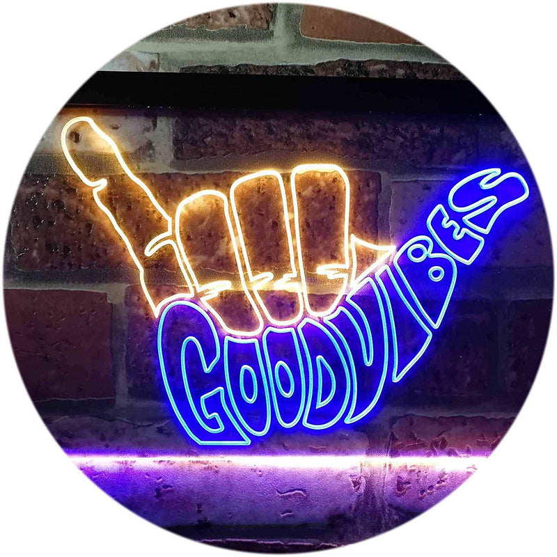 Good Vibes LED Neon Light Sign - Way Up Gifts