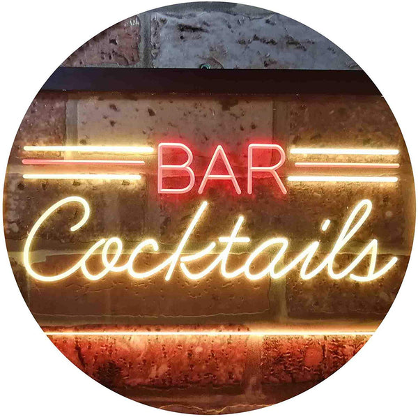Bar Cocktails LED Neon Light Sign - Way Up Gifts