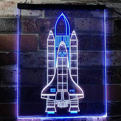 Astronaut Space Shuttle LED neon Light Sign