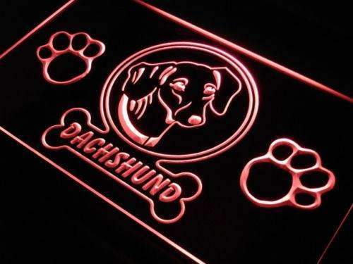Dachshund Dog Neon Sign (LED)-Way Up Gifts