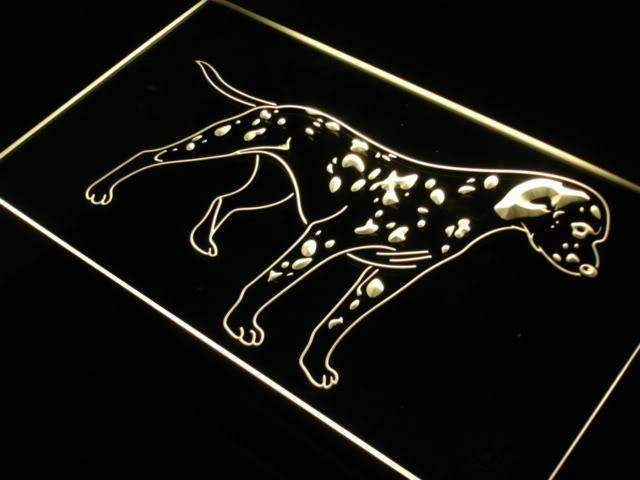 Dalmatian Puppy LED Neon Light Sign - Way Up Gifts