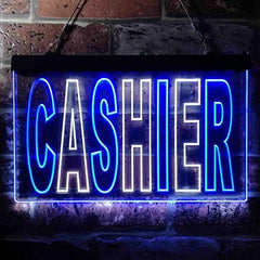 Cashier LED Neon Light Sign