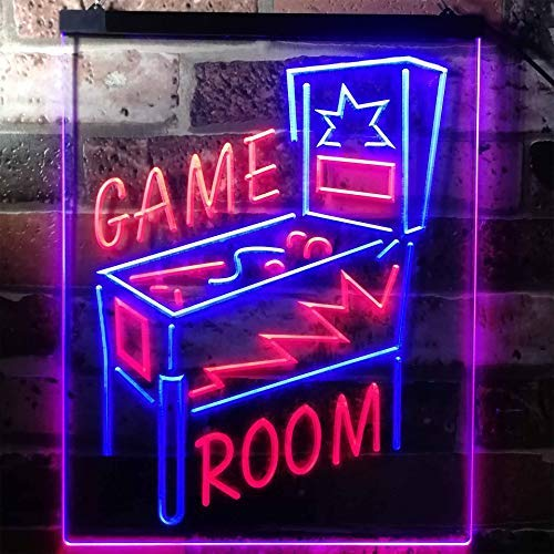 Pinball Game Room LED Neon Light Sign