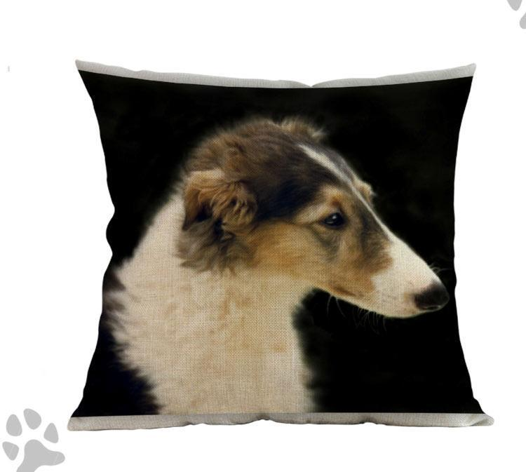 Borzoi Pillow - Way Up Gifts