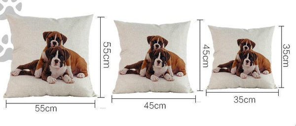 Boxer Dog Pillow - Way Up Gifts
