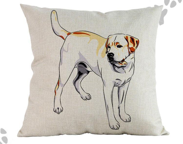Labrador Retriever Pillow - Way Up Gifts