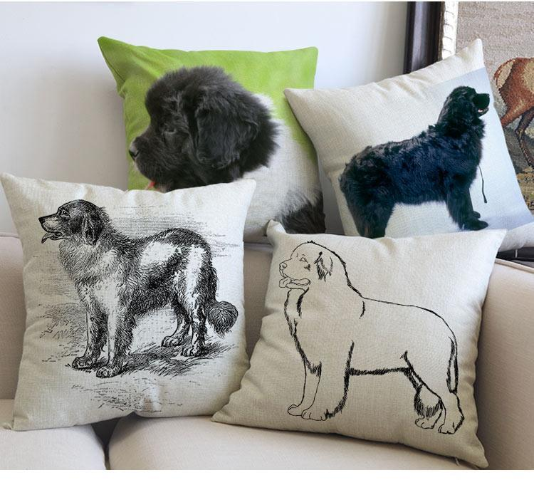 Newfoundland Pillow - Way Up Gifts