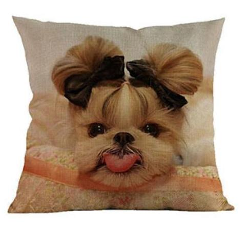 Shih Tzu Pillow - Way Up Gifts