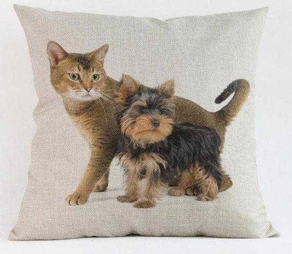 Yorkshire Terrier Yorkie Pillow - Way Up Gifts