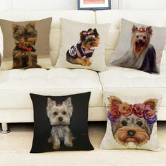 Yorkshire Terrier Yorkie Pillow