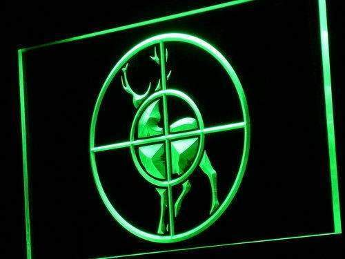 Deer Hunting Hunter LED Neon Light Sign - Way Up Gifts