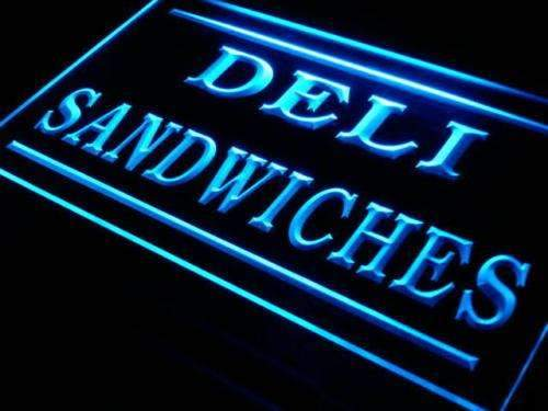 Deli Sandwiches LED Neon Light Sign - Way Up Gifts
