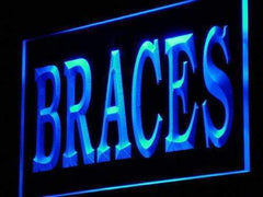 Dentist Braces LED Neon Light Sign