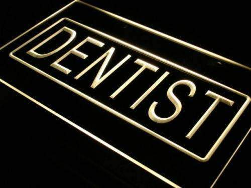 Dentist Neon Sign (LED)-Way Up Gifts