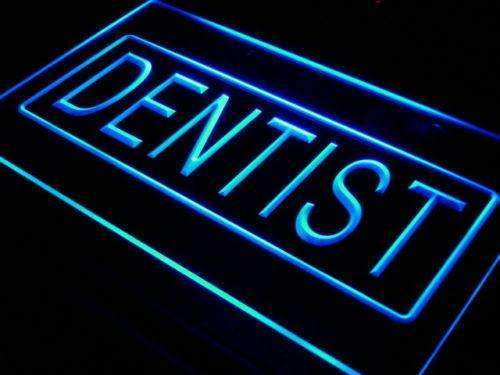 Dentist LED Neon Light Sign - Way Up Gifts