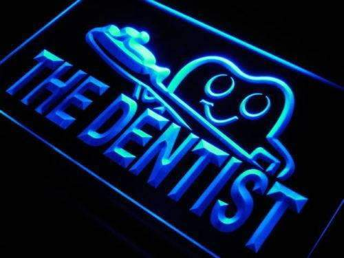 Dentist Toothbrush LED Neon Light Sign - Way Up Gifts
