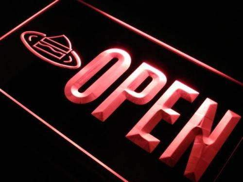 Desserts Open Neon Sign (LED)-Way Up Gifts
