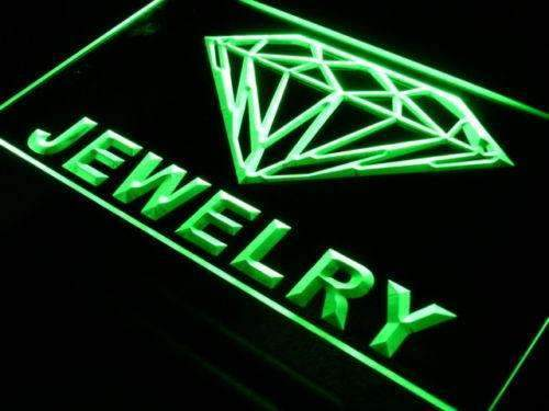 Diamonds Jewelry Store LED Neon Light Sign - Way Up Gifts