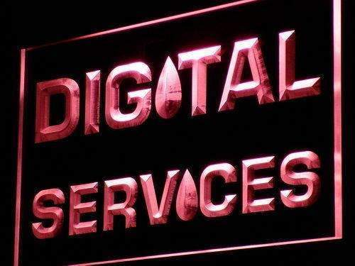 Digital Services LED Neon Light Sign - Way Up Gifts