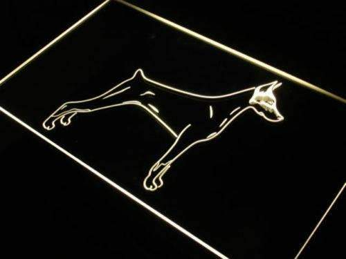 Doberman Pinscher Neon Sign (LED)-Way Up Gifts