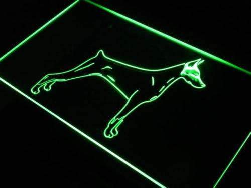 Doberman Pinscher LED Neon Light Sign - Way Up Gifts